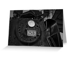 '' THE ENGINE '' Greeting Card