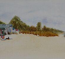 McCrae Beach Huts by Nicole Barros
