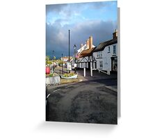 Watchet Greeting Card