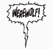Werewolf! One Piece - Short Sleeve
