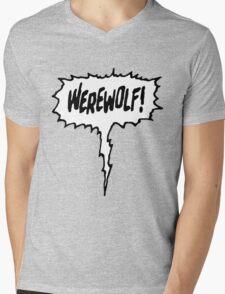 Werewolf! Mens V-Neck T-Shirt