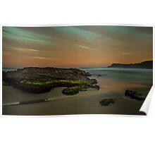 Frazer Beach, Sunset Rocks #1 Poster