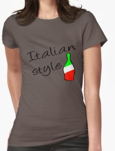 Italian Style Womens Fitted T-Shirt