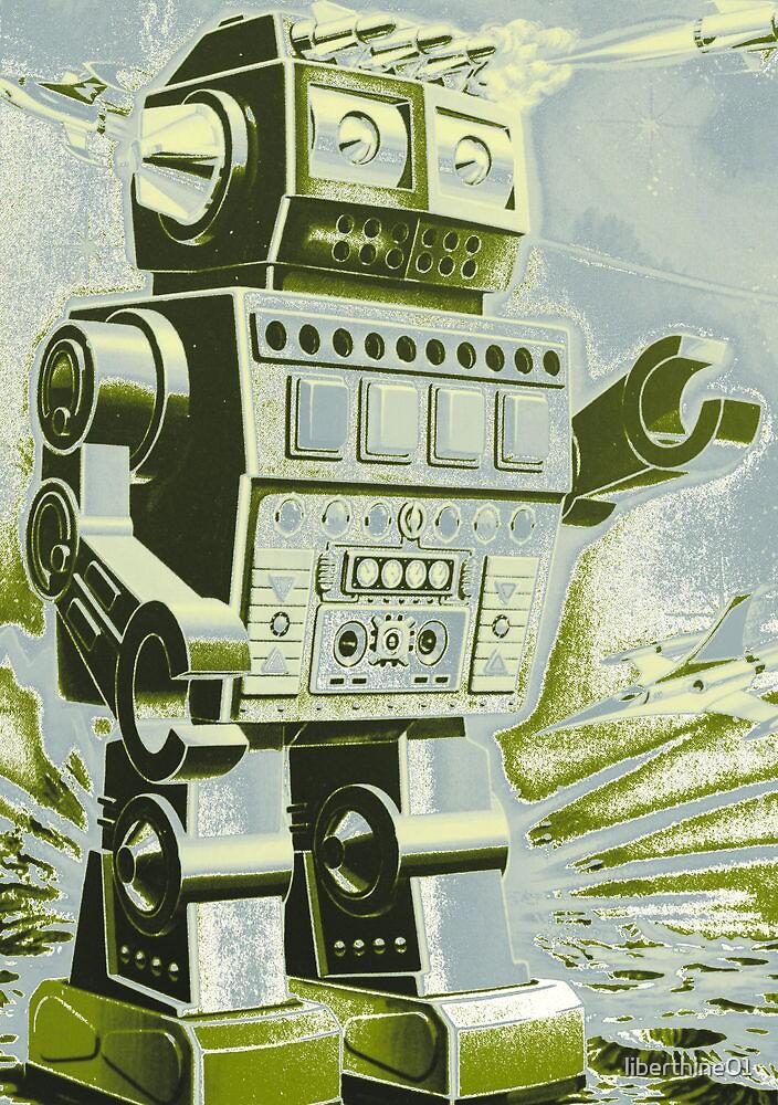 Robot Pop Art by liberthine01