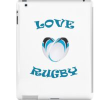 Heart shaped rugby iPad Case/Skin