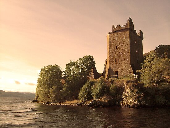 Urquhart Castle by Paul Madden
