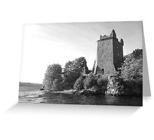 Urquhart Castle Loch Ness Greeting Card