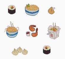 Pixel Junk Food Stickers 4 by siins
