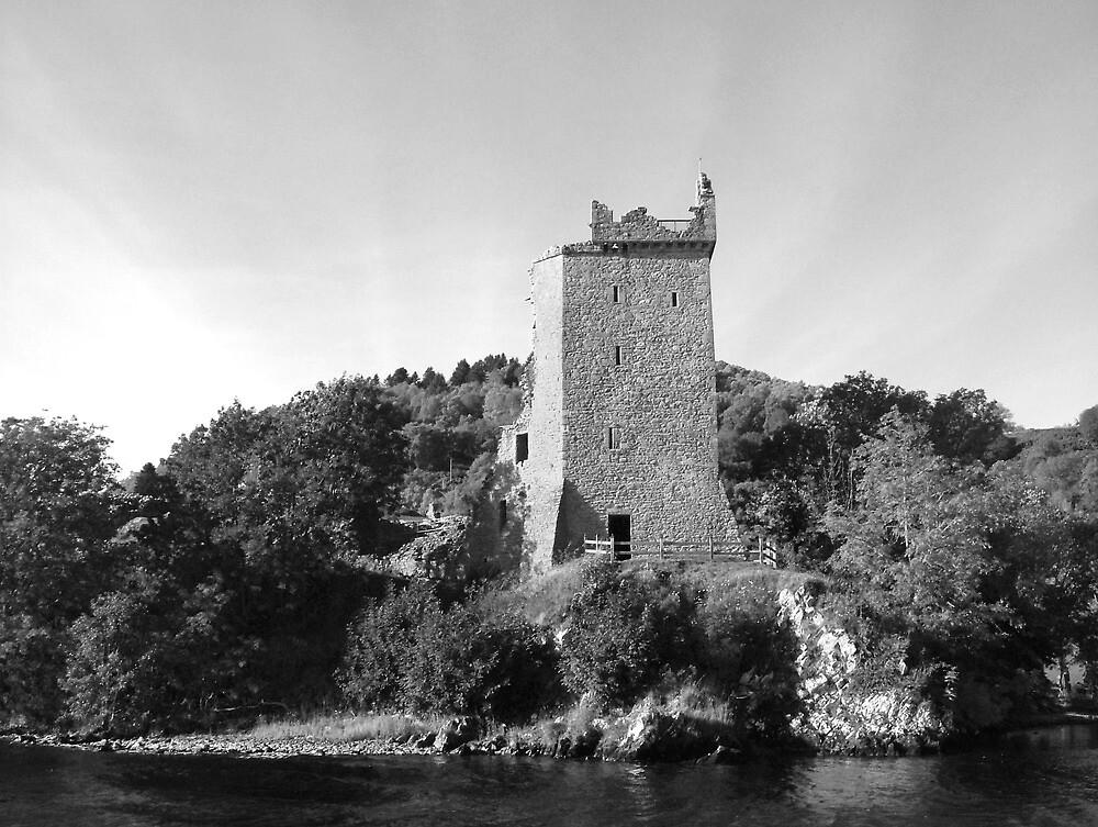 Urquhart Castle Loch Ness Scotland by Paul Madden