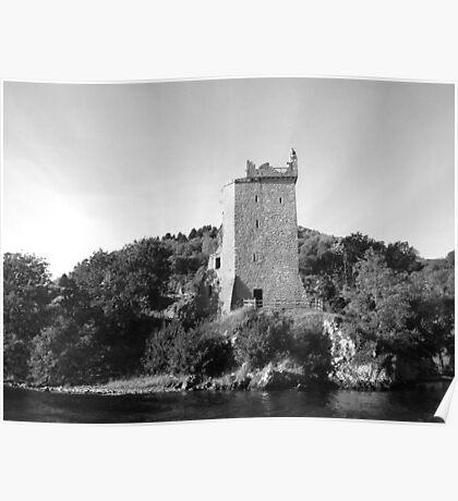 Urquhart Castle Loch Ness Scotland Poster