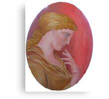 Cameo Classical Greek Canvas Print