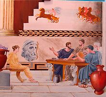 Classical Greek Scene by etcgallery