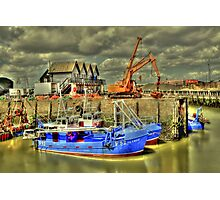 Fishing boats of Whitstable (HDR)  Photographic Print