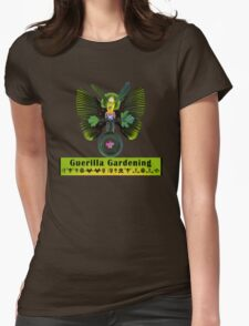 Guerilla Gardening Womens Fitted T-Shirt
