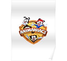 animaniacs logo Poster