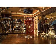 Rosé Wine Photographic Print