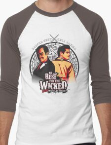 No Rest For The Wicked Men's Baseball ¾ T-Shirt