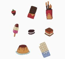 Pixel Junk Food Stickers 8 by siins