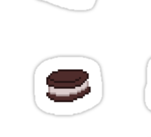 Pixel Junk Food Stickers 8 Sticker
