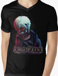 Ken Kaneki Tokyo Ghoul Mens V-Neck T-Shirt