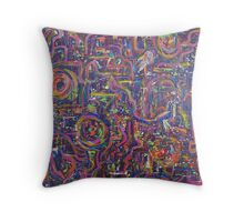 Mystic Travels Throw Pillow