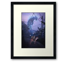 the journey to the west  Framed Print