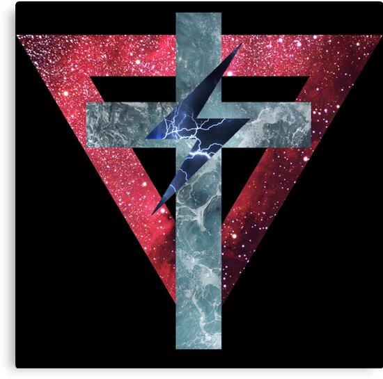 Lady Gaga Symbols by Tom Monforti