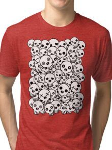 Skull Pile Tri-blend T-Shirt