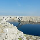 Pag Most (Bridge): Pag Island, Croatia by Michele Filoscia