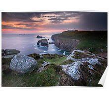 Cornish Arch Poster