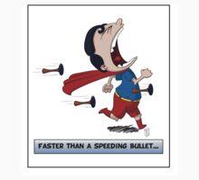 Look its a Bird! - Faster than a speeding bullet Kids Tee
