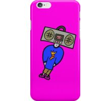 BOOMBOX HEAD iPhone Case/Skin