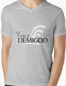 I Am A Demigod Mens V-Neck T-Shirt