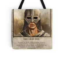 Wanted: The Gray Fox Tote Bag