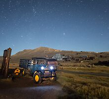 1928 Dodge Graham in Bodie at Night by jeffsullivan
