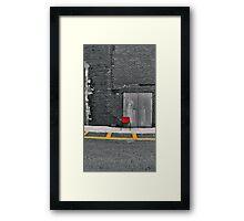 Go Sit in the Corner Framed Print