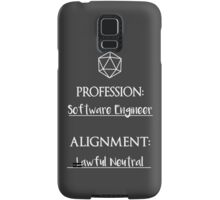 Software Engineers are lawful neutral Samsung Galaxy Case/Skin