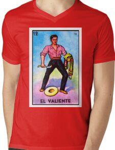 El Valiente Mens V-Neck T-Shirt