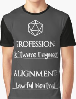 Software Engineers are lawful neutral Graphic T-Shirt