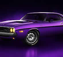 Dodge Challenger Hemi - Shadow by Marc Orphanos
