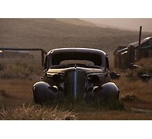 Bodie's 1937 Chevrolet in the Rain Photographic Print