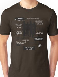 Stargate SG-1 - quotes (B/W design) Unisex T-Shirt