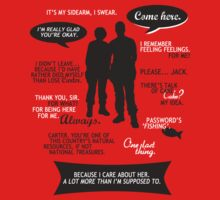 Stargate SG-1 - Sam & Jack quotes (B/W design) by angiesdesigns