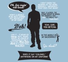 Stargate SG-1 - Jack quotes (B/W design) by angiesdesigns