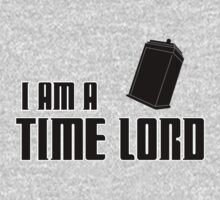 I Am A Time Lord Kids Tee