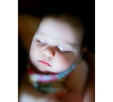 Raeleigh Gandy...2 month old Photographic Print