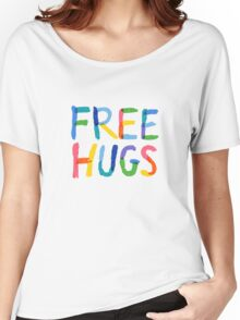 Free Hugs  Women's Relaxed Fit T-Shirt