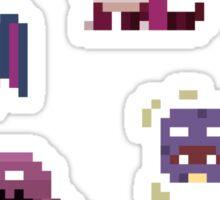 Mini Pixel Kanto Poison Types - Set of 9 Sticker
