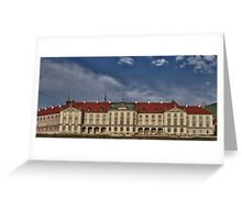 Palace of Warsaw Greeting Card