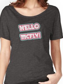 Hello McFly! Women's Relaxed Fit T-Shirt